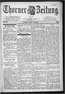 Thorner Zeitung 1901, Nr. 305 Erstes Blatt