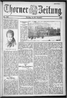 Thorner Zeitung 1901, Nr. 305 Zweites Blatt