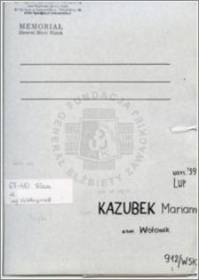 Kazubek Marianna
