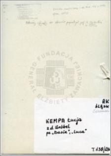 Kempa Łucja