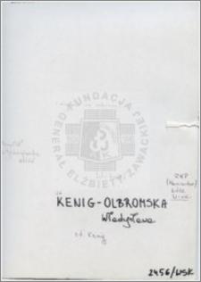 Kenig-Olbromska Władysława