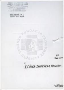 Kicińska-Bagnowska Aleksandra