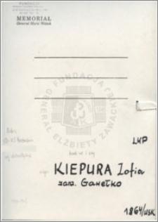Kiepura Zofia