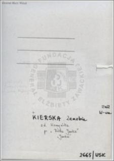 Kierska Zenobia