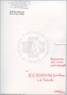 Kierzkowska Bronisława