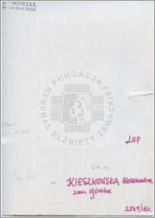 Kieszkowska Aleksandra