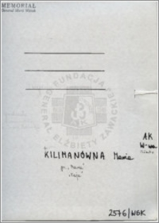 Kilimanówna Maria