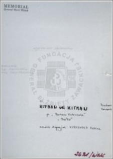 Kipman vel Kitman Kirkowska Halina