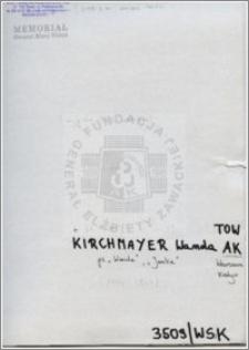 Kirchmayer Wanda
