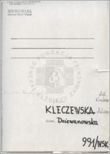 Kleczewska Alina