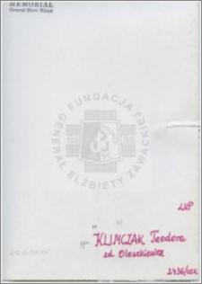Klimczak Teodora