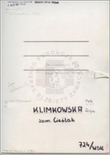 Klimkowska Zofia