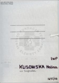 Klisowska Halina