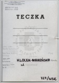 Klocek-Nirreńska Wanda