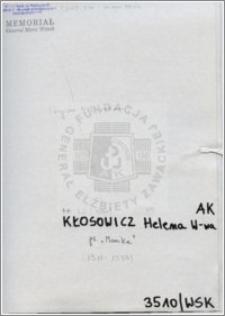 Kłosowicz Helena