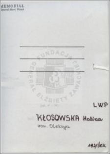 Kłosowska Halina