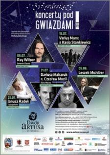Koncerty pod Gwiazdami 2016 : 08.07-05.08