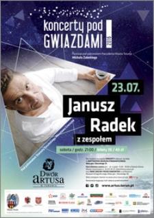 Koncerty pod Gwiazdami 2016 : Janusz Radek z zespołem : 23.07