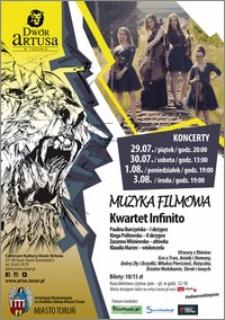 Muzyka filmowa : Kwartet Infinito : koncerty 29.07-3.08.2016