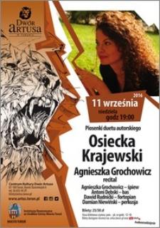 Piosenki duetu autorskiego : Osiecka Krajewski : 11 września 2016