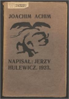 Joachim Achim : dramat w trzech zjawach