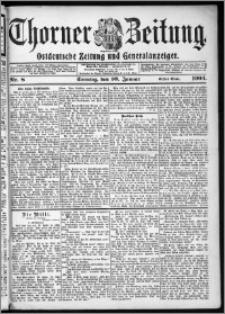 Thorner Zeitung 1904, Nr. 8 Erstes Blatt