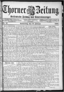 Thorner Zeitung 1904, Nr. 41 + Beilage