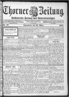 Thorner Zeitung 1904, Nr. 67 + Beilage