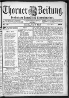 Thorner Zeitung 1904, Nr. 79 Erstes Blatt