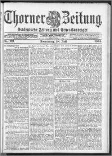Thorner Zeitung 1904, Nr. 175 + Beilage