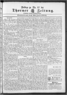Thorner Zeitung 1904, Nr. 177 + Beilage