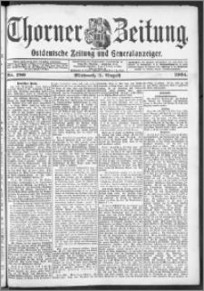 Thorner Zeitung 1904, Nr. 180 + Beilage