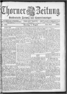 Thorner Zeitung 1904, Nr. 184 Erstes Blatt