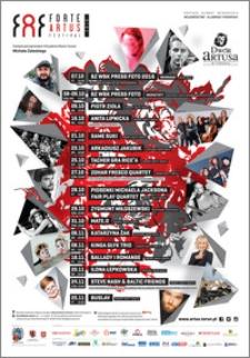 FAF Forte Artus Festival 2016 : plakat imprez
