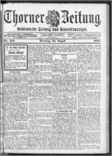 Thorner Zeitung 1904, Nr. 203 + Beilage