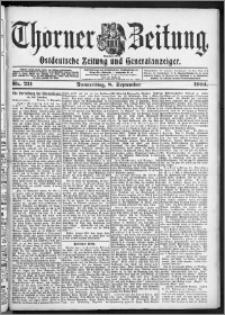 Thorner Zeitung 1904, Nr. 211 + Beilage