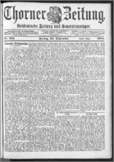Thorner Zeitung 1904, Nr. 224 Erstes Blatt