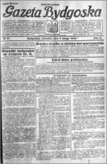 Gazeta Bydgoska 1926.02.04 R.5 nr 27