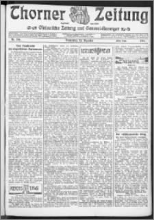 Thorner Zeitung 1904, Nr. 294 Erstes Blatt