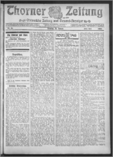 Thorner Zeitung 1909, Nr. 26 Erstes Blatt + Beilage