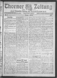 Thorner Zeitung 1909, Nr. 27 + Beilage