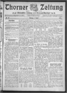 Thorner Zeitung 1909, Nr. 179 + Beilage