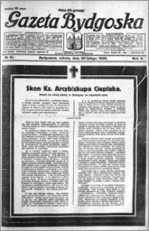 Gazeta Bydgoska 1926.02.20 R.5 nr 41