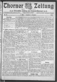Thorner Zeitung 1909, Nr. 261 Erstes Blatt