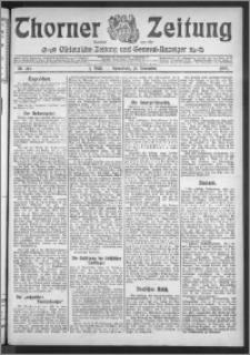Thorner Zeitung 1909, Nr. 267 Erstes Blatt