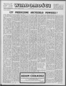 Wiadomości, R. 33 nr 43 (1699), 1978