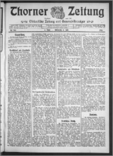 Thorner Zeitung 1910, Nr. 155 1 Blatt