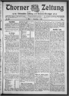 Thorner Zeitung 1910, Nr. 156 1 Blatt