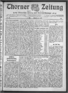 Thorner Zeitung 1910, Nr. 161 2 Blatt