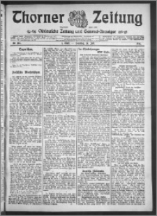 Thorner Zeitung 1910, Nr. 165 1 Blatt